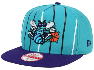Charlotte Hornets New Era NBA Logo Mural Snap 9FIFTY Cap