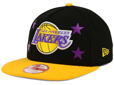 Los Angeles Lakers New Era NBA Logo Mural Snap 9FIFTY Cap