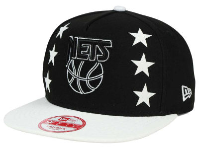 New Jersey Nets New Era NBA Logo Mural Snap 9FIFTY Cap