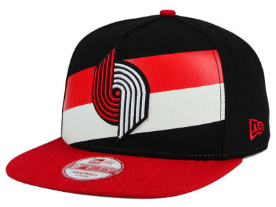 Portland Trail Blazers New Era NBA Logo Mural Snap 9FIFTY Cap
