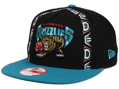 Vancouver Grizzlies New Era NBA Logo Mural Snap 9FIFTY Cap
