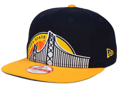 Golden State Warriors New Era NBA HWC Team Oversizer 9FIFTY Snapback Cap