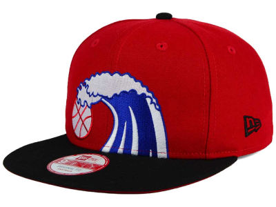 Miami Heat New Era NBA HWC Team Oversizer 9FIFTY Snapback Cap