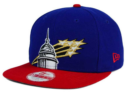 Washington Bullets New Era NBA HWC Team Oversizer 9FIFTY Snapback Cap