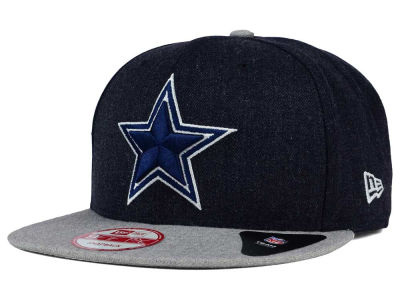 Dallas Cowboys New Era NFL Heather Action 9FIFTY Snapback Cap