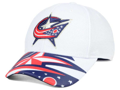 Columbus Blue Jackets Reebok NHL 2nd Season Draft Flex Cap