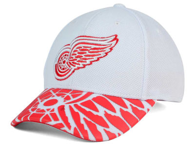 Detroit Red Wings Reebok NHL 2nd Season Draft Flex Cap