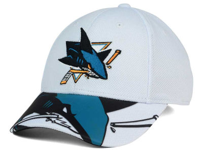 San Jose Sharks Reebok NHL 2nd Season Draft Flex Cap