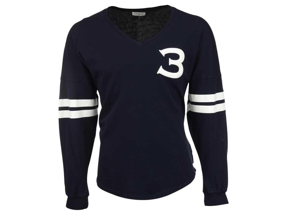 Seattle Seahawks Russell Wilson NFL Women s Player Spirit Jersey Long  Sleeve T-Shirt  842de633bdf2