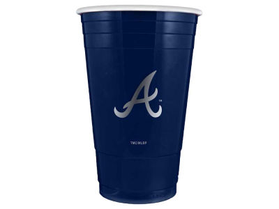Atlanta Braves 16oz Plastic Double Wall Cup