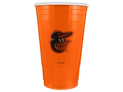 Baltimore Orioles 16oz Plastic Double Wall Cup