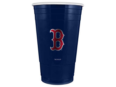 Boston Red Sox 16oz Plastic Double Wall Cup