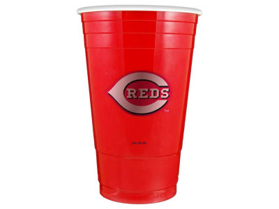 Cincinnati Reds 16oz Plastic Double Wall Cup