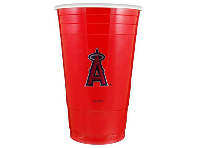 Los Angeles Angels Memory Company 16oz Plastic Double Wall Cup