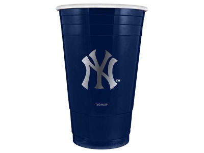 New York Yankees 16oz Plastic Double Wall Cup