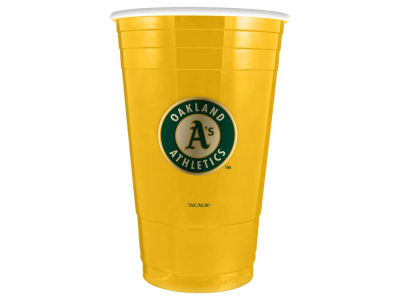 Oakland Athletics 16oz Plastic Double Wall Cup