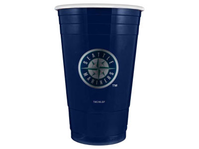Seattle Mariners 16oz Plastic Double Wall Cup