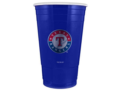 Texas Rangers 16oz Plastic Double Wall Cup