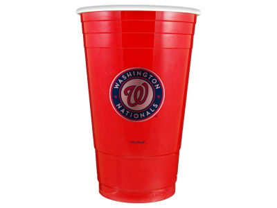 Washington Nationals 16oz Plastic Double Wall Cup