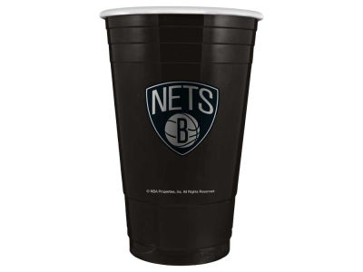 Brooklyn Nets 16oz Plastic Double Wall Cup