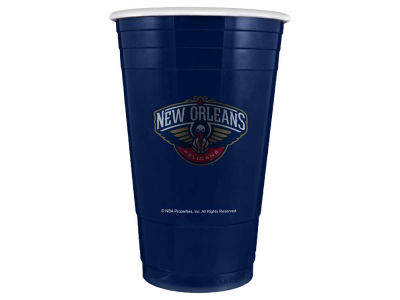 New Orleans Pelicans 16oz Plastic Double Wall Cup
