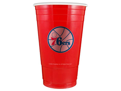 Philadelphia 76ers 16oz Plastic Double Wall Cup