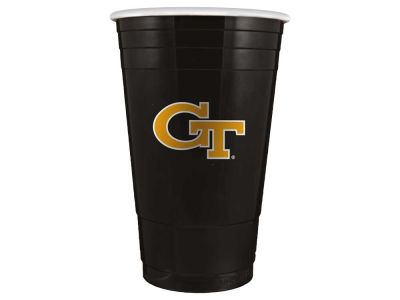 Georgia-Tech 16oz Plastic Double Wall Cup