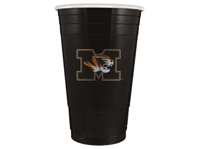 Missouri Tigers 16oz Plastic Double Wall Cup