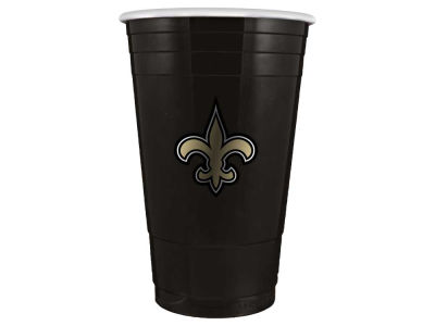 New Orleans Saints 16oz Plastic Double Wall Cup