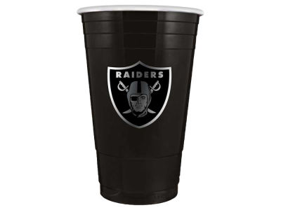 Oakland Raiders 16oz Plastic Double Wall Cup