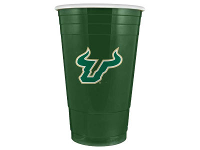 South Florida Bulls 16oz Plastic Double Wall Cup