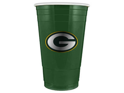 Green Bay Packers 16oz Plastic Double Wall Cup
