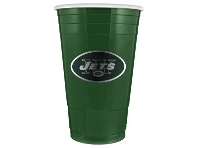 New York Jets 16oz Plastic Double Wall Cup