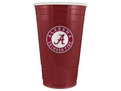 Alabama Crimson Tide 16oz Plastic Double Wall Cup