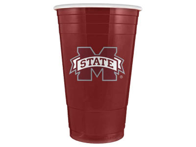 Mississippi State Bulldogs 16oz Plastic Double Wall Cup