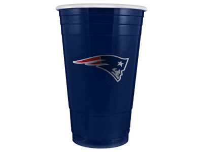 New England Patriots 16oz Plastic Double Wall Cup