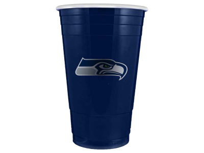 Seattle Seahawks 16oz Plastic Double Wall Cup