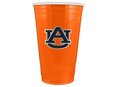 Auburn Tigers 16oz Plastic Double Wall Cup