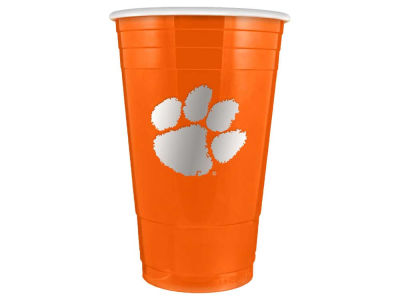 Clemson Tigers 16oz Plastic Double Wall Cup