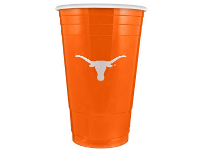 Texas Longhorns 16oz Plastic Double Wall Cup
