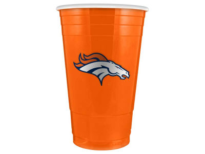 Denver Broncos 16oz Plastic Double Wall Cup