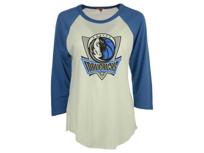 Dallas Mavericks NBA Women's Travel Raglan T-Shirt