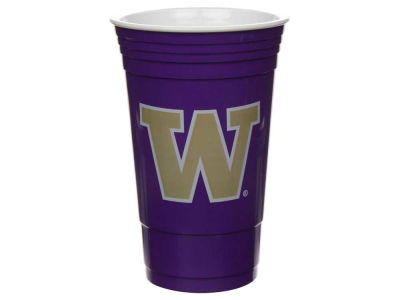 Washington Huskies 16oz Plastic Double Wall Cup