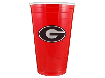 Georgia Bulldogs 16oz Plastic Double Wall Cup