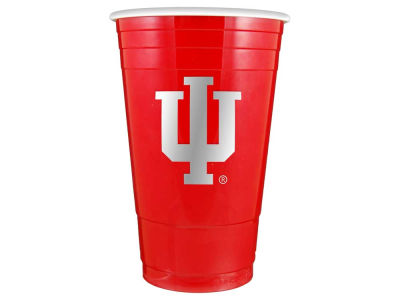Indiana Hoosiers 16oz Plastic Double Wall Cup