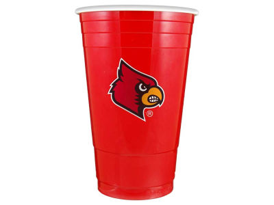 Louisville Cardinals 16oz Plastic Double Wall Cup