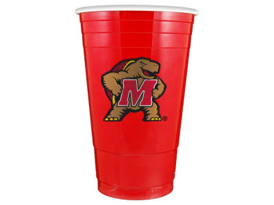 Maryland Terrapins 16oz Plastic Double Wall Cup