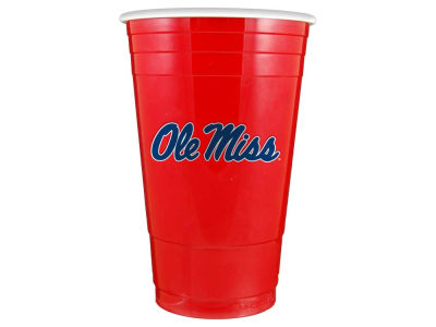 Ole Miss Rebels 16oz Plastic Double Wall Cup