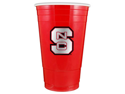 North Carolina State Wolfpack 16oz Plastic Double Wall Cup