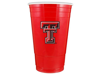 Texas Tech Red Raiders 16oz Plastic Double Wall Cup